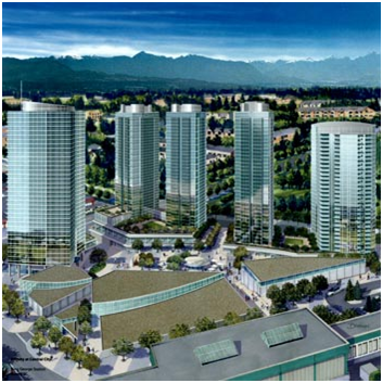 345 UNIT CONDOMINIUM CONSTRUCTION, Surrey, BC
